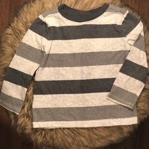 Old Navy Striped Long Sleeve Tee. Toddler size 2T